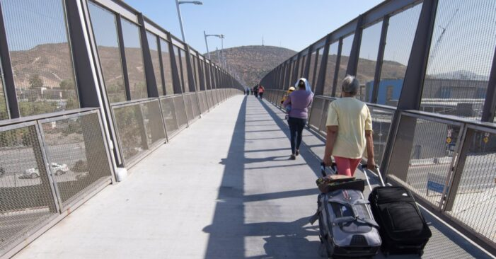 First 'Remain in Mexico' asylum seekers enter U.S. at San Ysidro