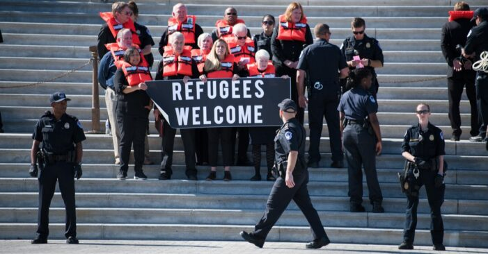 Record Low Refugee Cap Goes Into Effect, Sparking Outcry