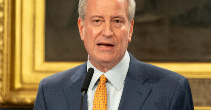 De Blasio Rolls Out COVID Booster Shot Plan Utilizing All NYC Vaccination Sites: 'We Are Ready'