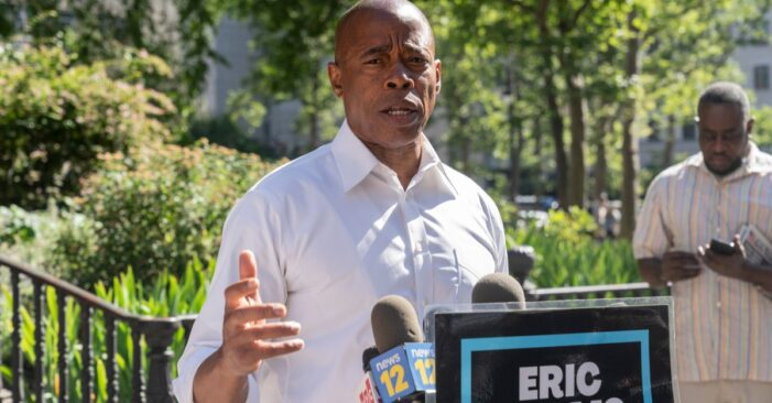 'Running Against a Movement': Eric Adams Declares war on AOC's Socialists