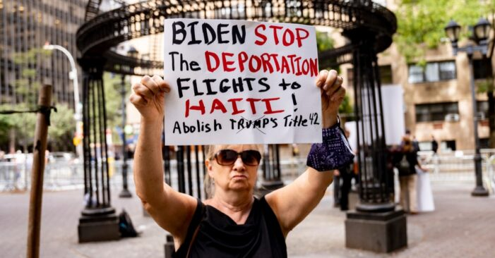 Biden Administration Doubles Down on Title 42 as Del Rio Expulsions Draw to a Close